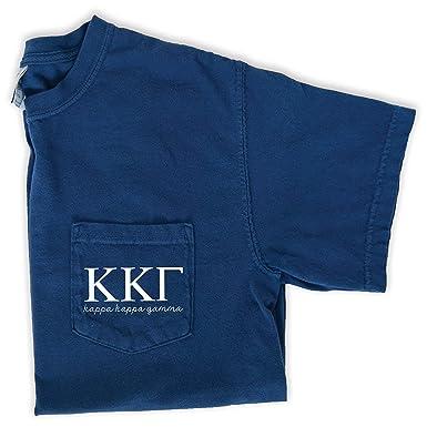 7c7d62be56e7 Kappa Kappa Gamma Script Letters T-Shirt