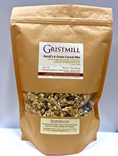 product image for Homestead Gristmill — Non-GMO, Chemical-Free, All-Natural Heidi's 6-Grain Cereal Mix (2 Pack)