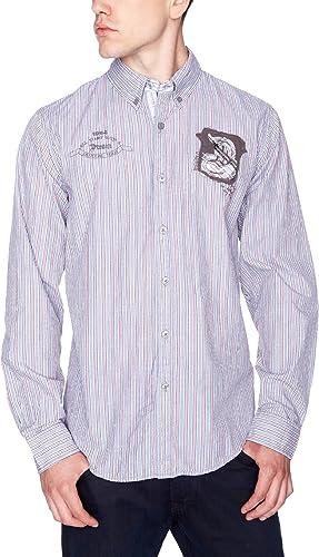 Desigual Camisa Boqueron Ceniza XXXL: Amazon.es: Ropa y accesorios