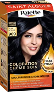 saint algue palette coloration permanente noir bleut 909 - Coloration Noir Bleut