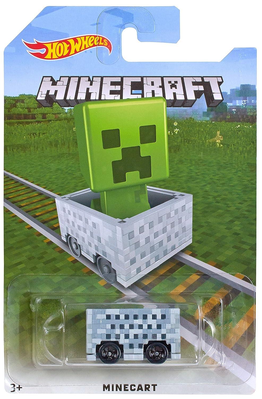Amazon.com: Hot Wheels Minecraft Creeper Vehículo: Toys & Games