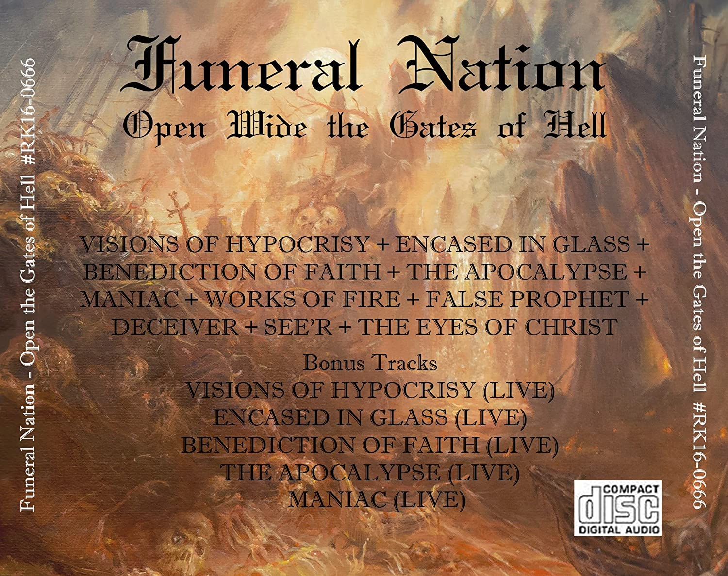 Funeral Nation - Open Wide The Gates Of Hell - Amazon com Music