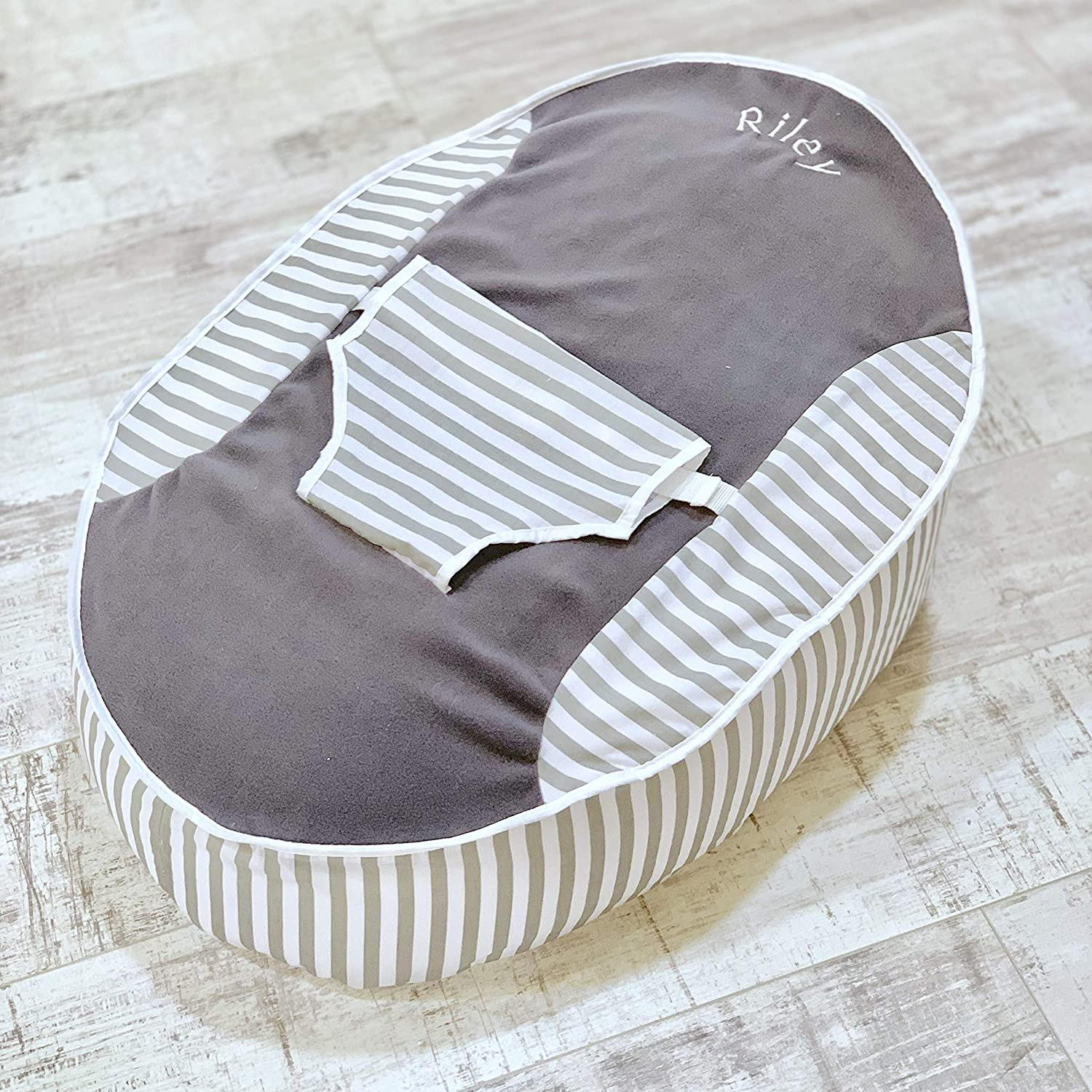 Personalised PRE Filled Baby Bean Bag Chair SEAT Newborn Boys Newborn Next Day Dispatch
