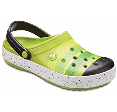 Unisex Crocband Color-Burst Clog