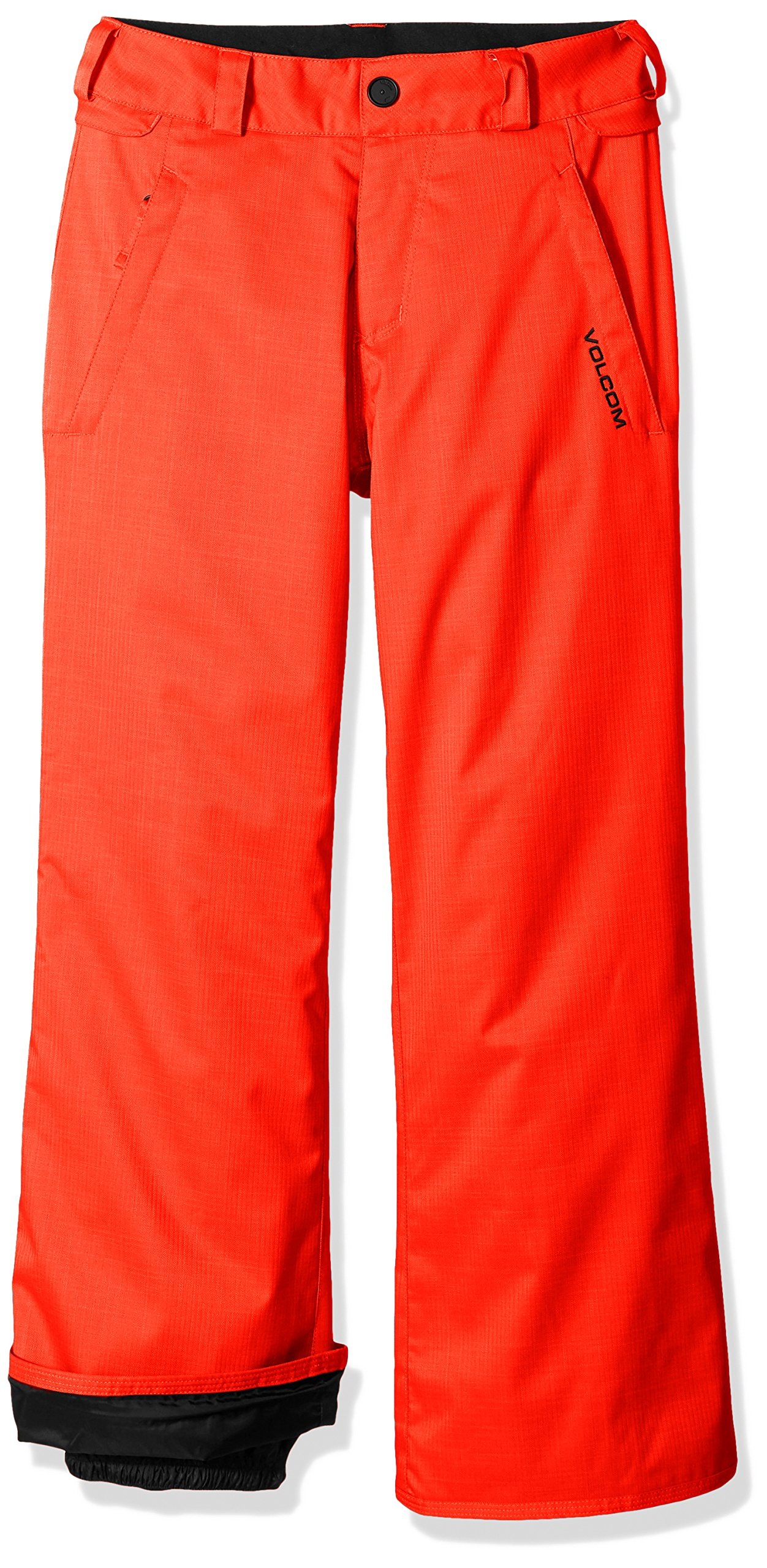 Volcom Big Boys' Explorer Insulated Pant, Fire Red, S by Volcom