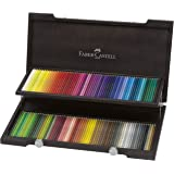Faber-Castell PolychromosColour Pencils in Wooden Case of 120, (18-110013)