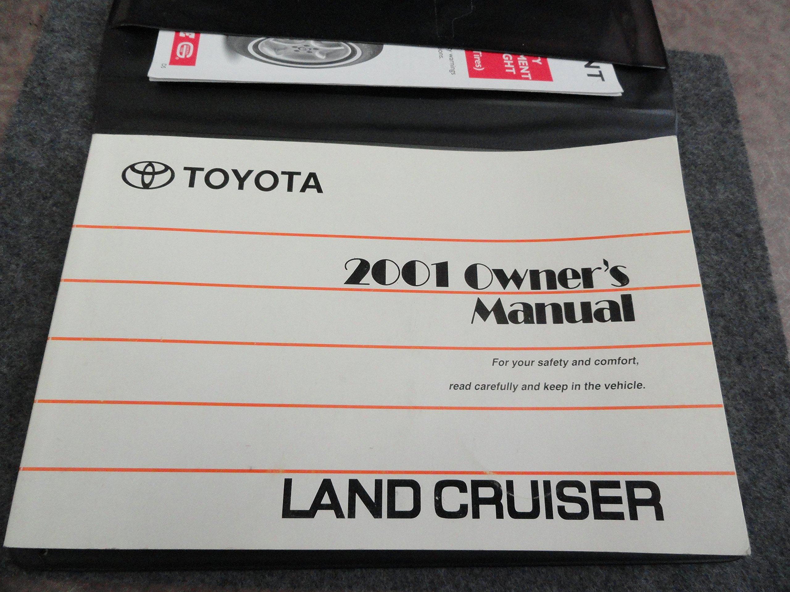 2001 toyota land cruiser owners manual toyota amazon com books rh amazon com 1998 Toyota Land Cruiser 2000 Toyota Land Cruiser