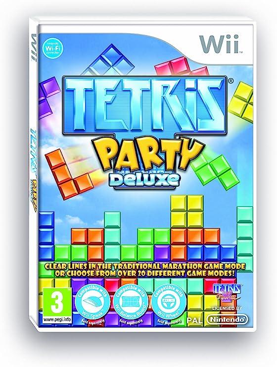 Tetris Party Deluxe (Wii) [Importación inglesa]: Amazon.es: Videojuegos