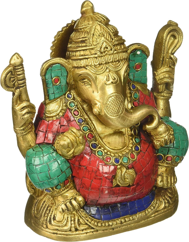 Amazon.com: Ganesh Vakratunda, Vinayak, Lambodar, Ganpati, Gajanan Indian  Hand Crafted Religious God Ganesha Mosaic Statue: Home & Kitchen