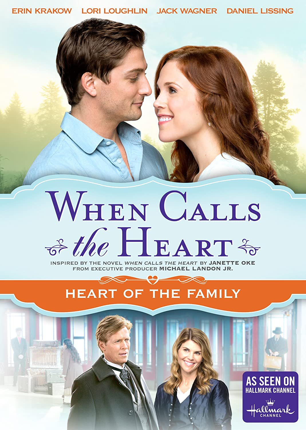 When Calls the Heart: Heart of the Family – DVD Image