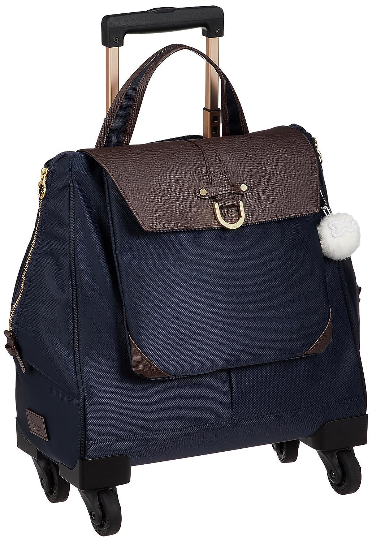 [カナナプロジェクト] スーツケース等 カナナCL-3TR ソフトキャリー 機内持込可 13L 35cm 2.2kg 55301 B079ZWJ2RK ネイビーブルー ネイビーブルー