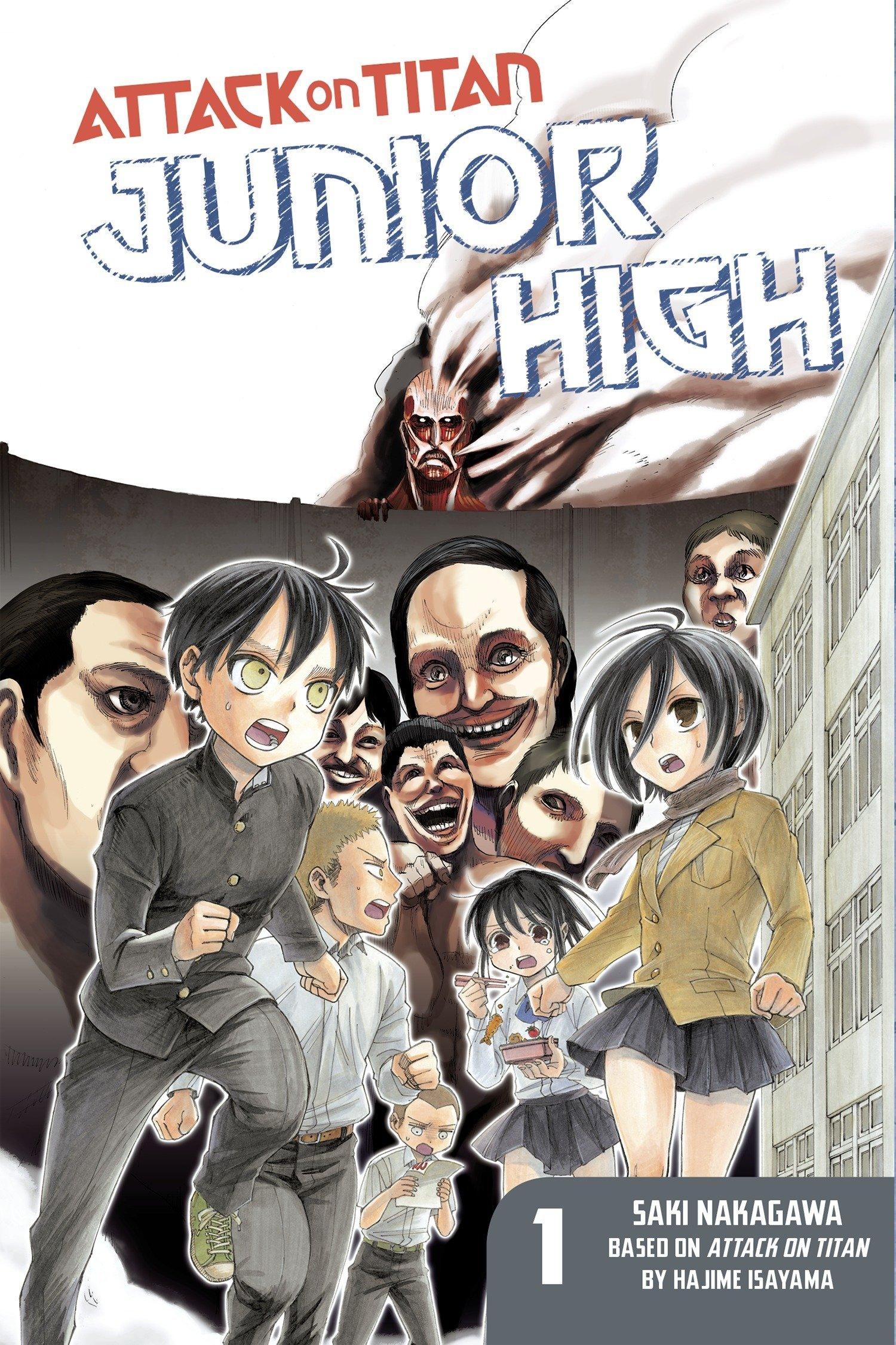 Amazon.com: Attack on Titan: Junior High 1 (9781612629162): Saki Nakagawa,  Hajime Isayama: Books