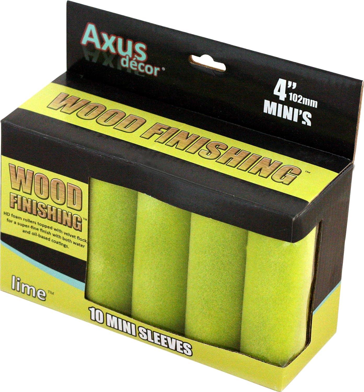Axux D/écor AXU//RG9S 221 x 44 mm Recambio de rodillo para pintar color gris