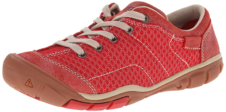 KEEN Women's Mercer Lace II CNX Shoe B00LG9MTYY 5 B(M) US Ribbon Red