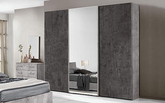 Dafnedesign.Com - Dormitorio Completo - Cemento, óxido (Cama de ...