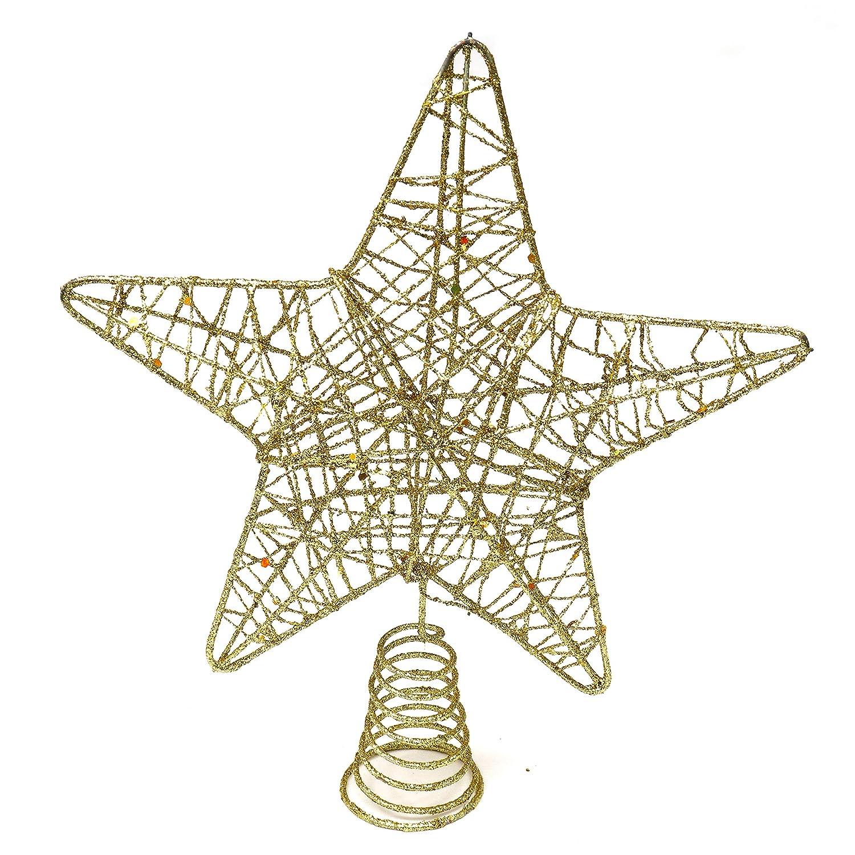 BELLE VOUS Decoracion Arbol Navidad - Adornos Árbol Navidad Coronar Arbol -