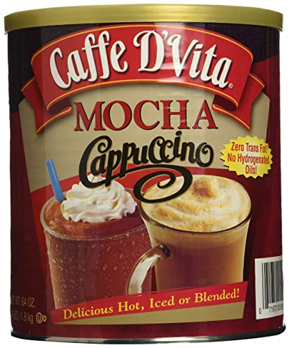 Caffe DVita Mocha Cappuccino Hot or Cold