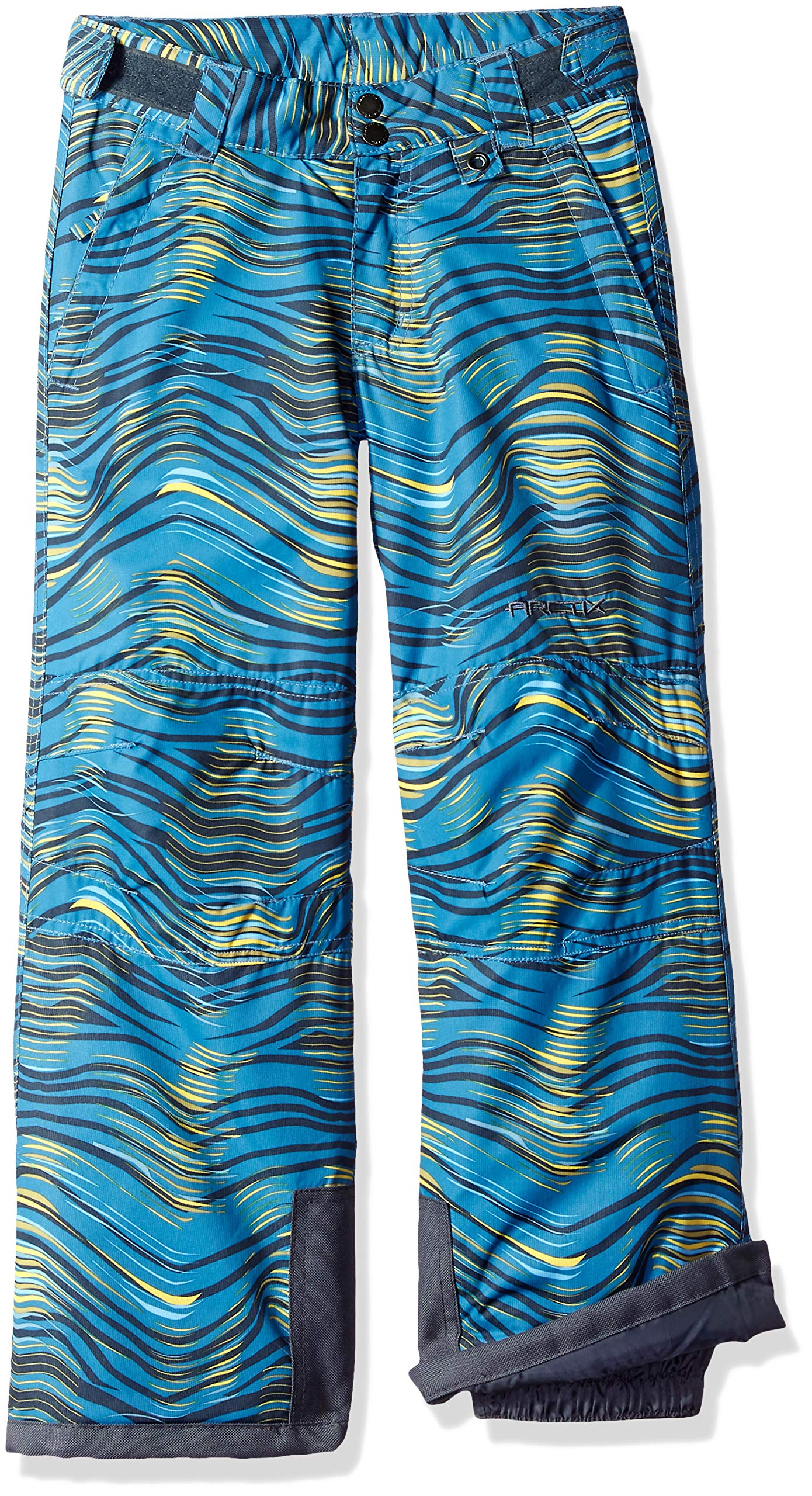 Arctix Youth Reinforced Snow Pants, X-Small, Blue Wave