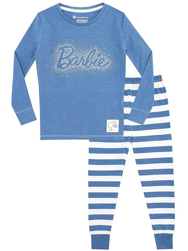 Barbie - Pijama para niñas - Ajuste Ceñido: Amazon.es: Ropa ...