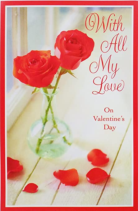 Amazon with all my love on valentines day time will never quotwith all my lovequot on valentines day quottime will never m4hsunfo