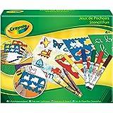 Crayola - 52348 - Loisir Créatif - Jeux de Pochoirs