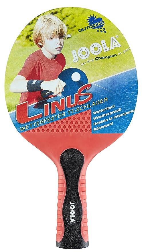 Joola – Raqueta de Tenis de Mesa Linus Exterior, Rojo