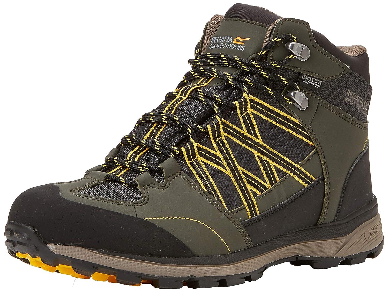(Dkkhaki or 40a) 8 UK (42 EU) EU REGV7  Regatta Samaris Mid II, Chaussures de Randonnée Hautes Homme