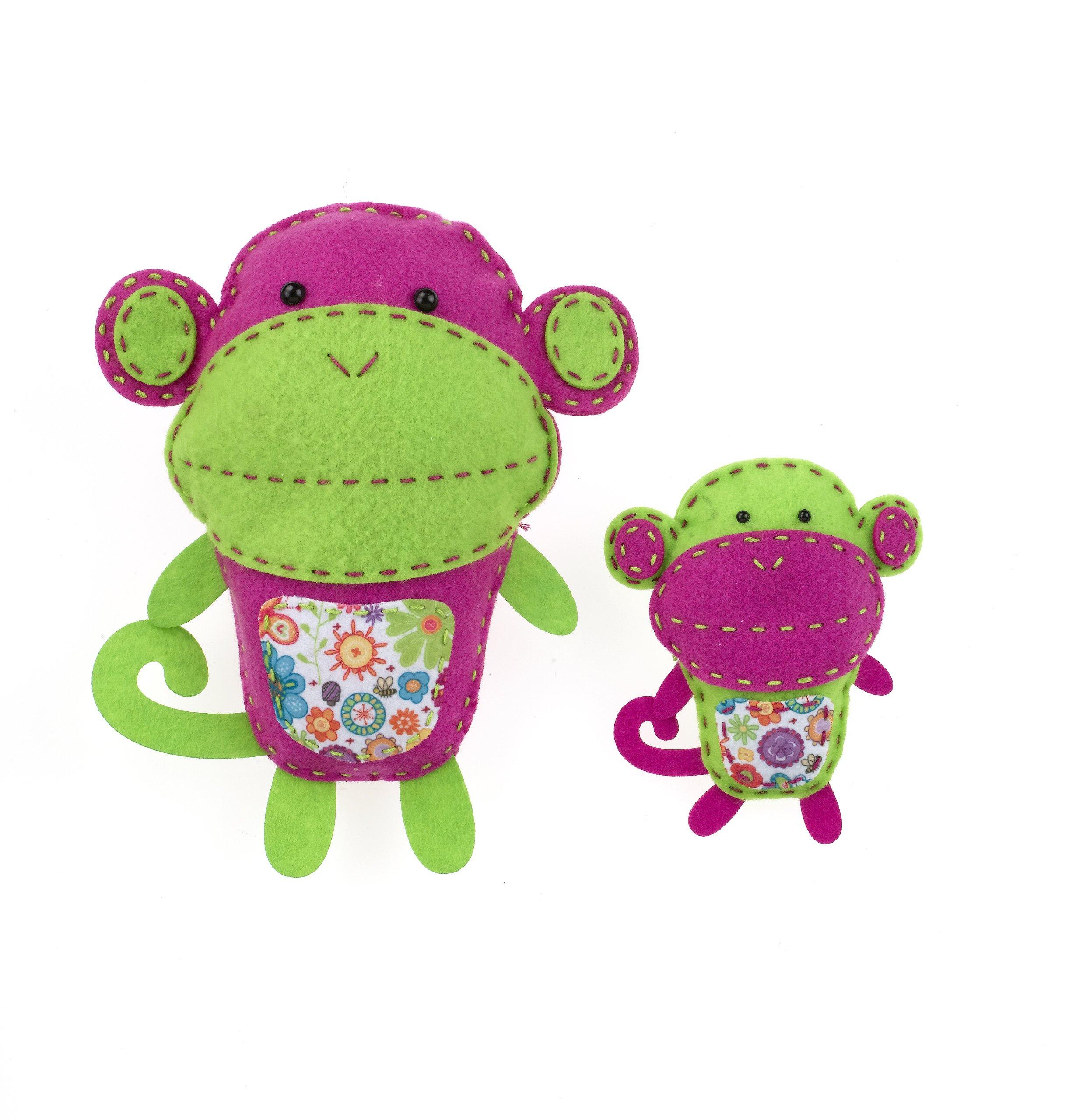 American Girl Crafts Monkeys Sew and Stuff Kit