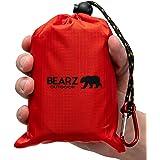 BEARZ Outdoor Pocket Blanket Picnic Mat, Waterproof Picnic Blanket, Travel Blanket, Waterproof Blanket, Beach Blanket Waterpr
