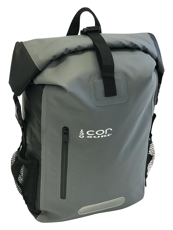 COR Surf - Dry Bag Sac imperméable sac à dos étanche 40 l avec protection pour ordinateur portable et pour garder votre équipement électronique/sec dans les éléments