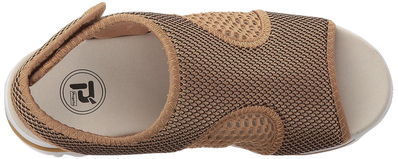 Propet Women's TravelActiv Ss Sandal B01IODCIP4 6 W US|Gold/Black