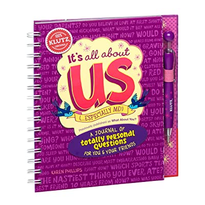 Klutz It's All About Us: A Journal of Totally Personal Questions for You & Your Friends Craft Kit: Phillips, Karen: Toys & Games