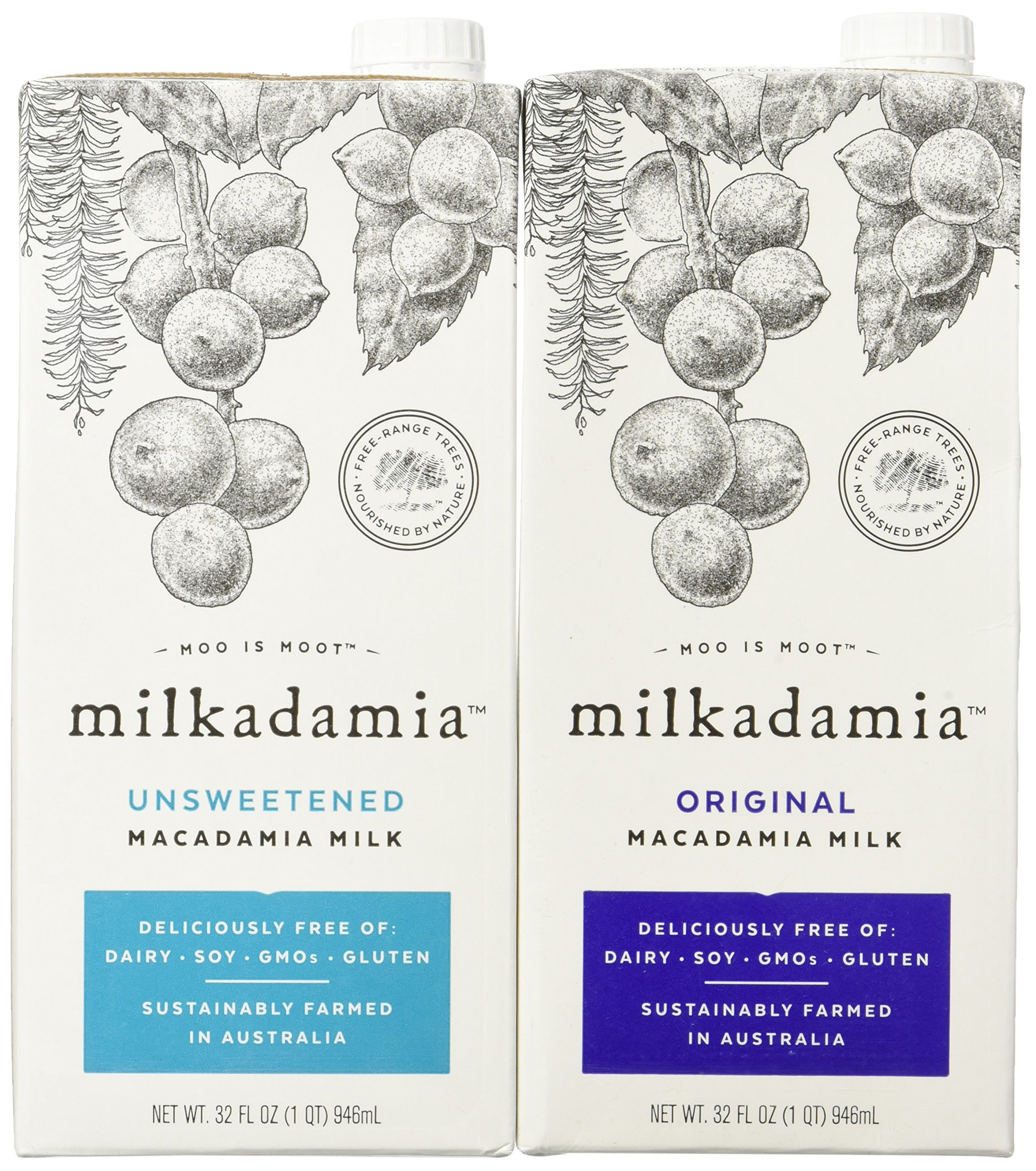 Milkadamia Variety Pack, Macadamia Milk, 32 Ounce  (Pack of 6) by Milkadamia (Image #9)
