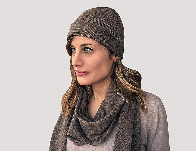 Stola Cachemire Sciarpa Cachemire Sciarpa e Cappello Cappello Donna  cachemire Cappello e Sciarpa Abbinati Regalo di d1ff877b8e2c