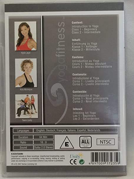 Amazon.com: Yoga Fitness Work Out DVD Training DVD: Movies & TV