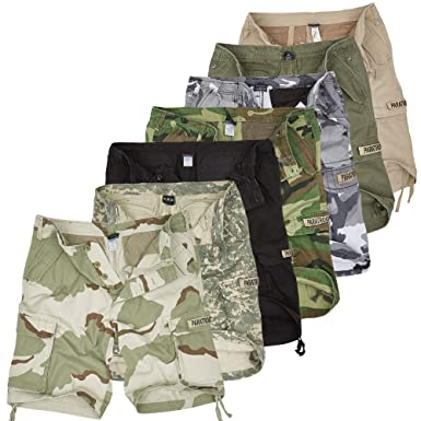 a7e1d04b8bdd4 Urbandreamz Cargo Moleskin Shorts Paratrooper Vintage Cargo Trousers  Shorts  Amazon.co.uk  Clothing