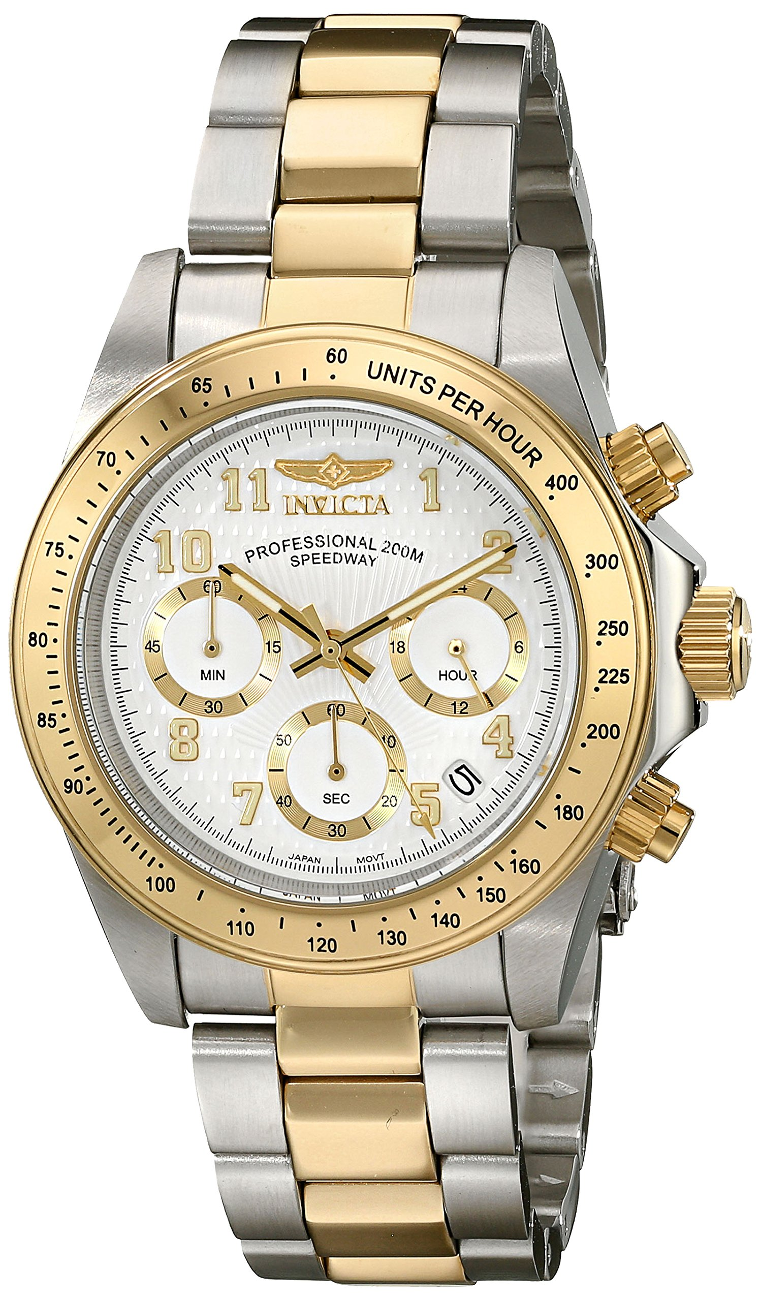 Invicta Men's 17026 Speedway Analog Display Japanese Quartz Two Tone Watch