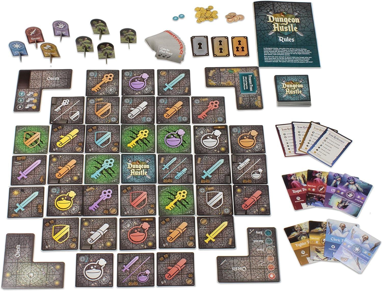 WizKids Dungeon Hustle: Amazon.es: Juguetes y juegos