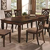 Coaster Home Furnishings Transitional Dining Table, Oak