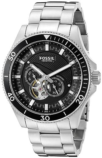 307892d5ee94 Fossil Mens Wakefield - me3090  Amazon.es  Relojes