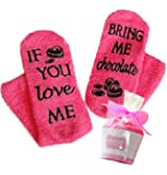 Birthday gift for her - Chocolate Socks in cupcake gift packaging - the coolest & warmest gift for the woman in your…