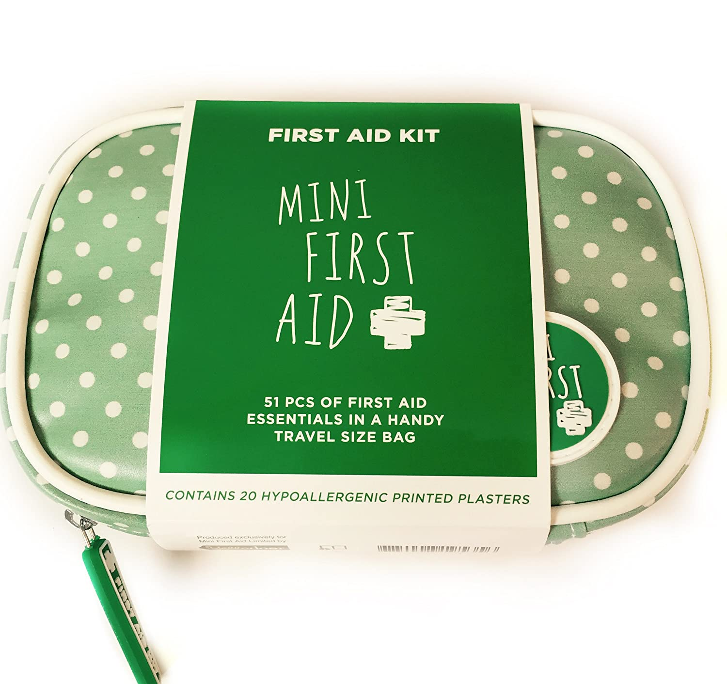 Best Travel Baby First Aid Kit by Mini First Aid. Perfect for changing bags, handbags or car.