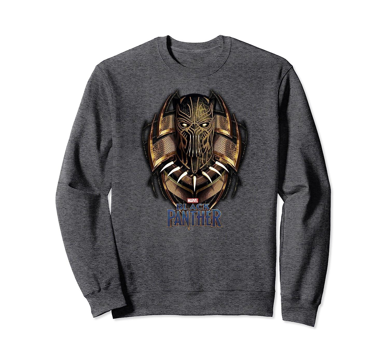 Amazon.com: Marvel Black Panther Movie Killmonger Gold Jaguar Sweatshirt: Clothing