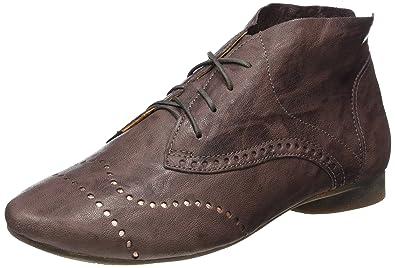 Think Damen Guad Desert Boots, Braun (Malva/Kombi 31), 36 EU