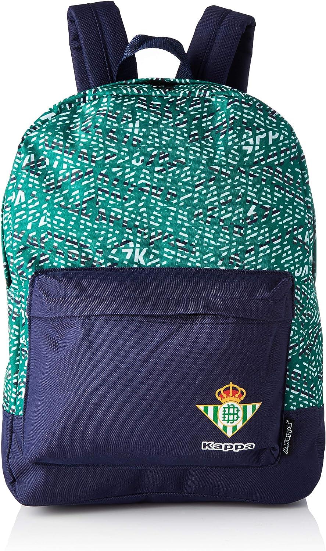 Kappa - Mochila Real Betis Balompié 2018/2019 - Jorhy - Azul marino/Verde - 29 litros: Amazon.es: Deportes y aire libre