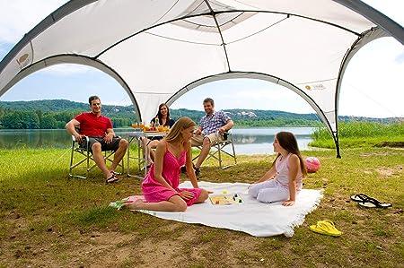 Coleman Event Shelter Carpa Cenador para Festivales, Jardín y Camping + Panel Lateral con Ventanas y Puerta: Amazon.es: Deportes y aire libre