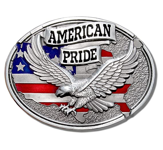 2de2fbbe9 Image Unavailable. Image not available for. Color  American Pride Belt  Buckle