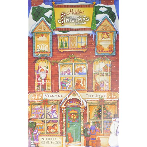 Madelaine Chocolate Company Chocolate Advent Calendar - 24 Chocolates8oz pack