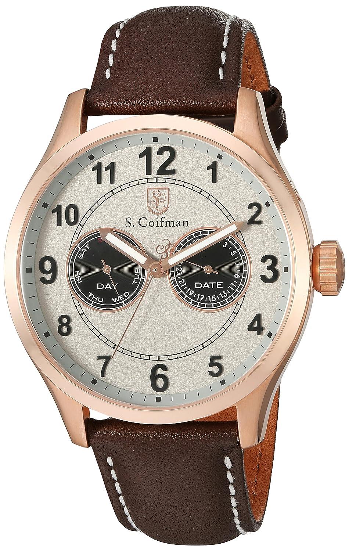 S.Coifman Herren- Armbanduhr Analog Quarz SC0318