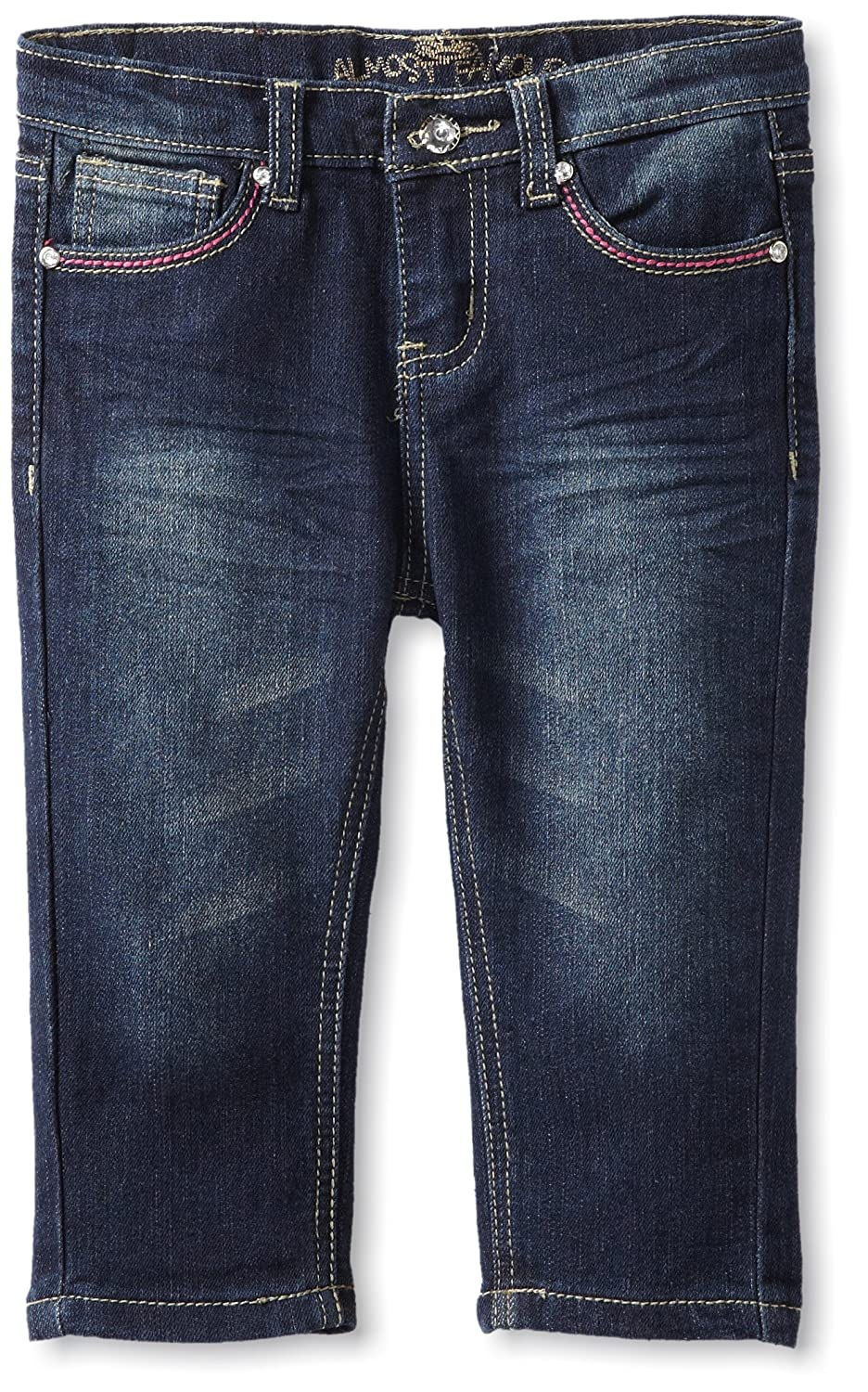 Almost Famous Little Girls Stud Capri Dark Night Wash 4 Almost Famous Girls